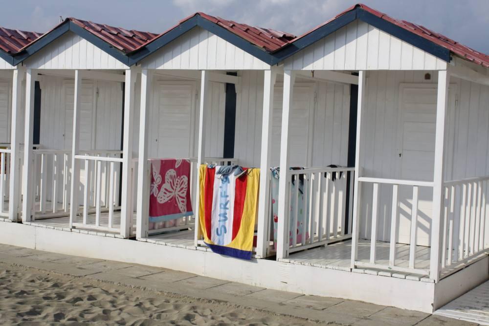 Cabina at Bagno Angelo Forte dei Marmi