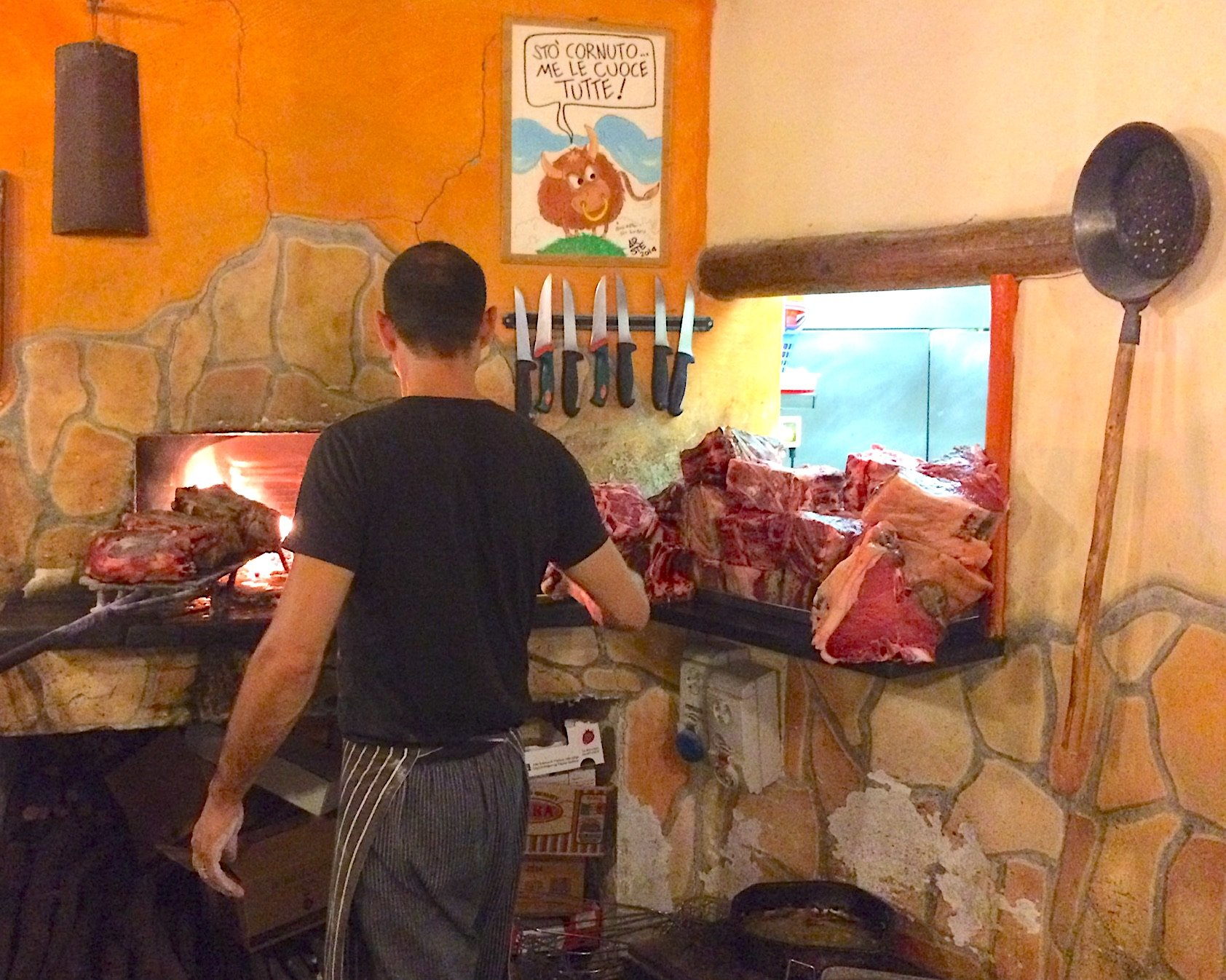 Best steak in Tuscany