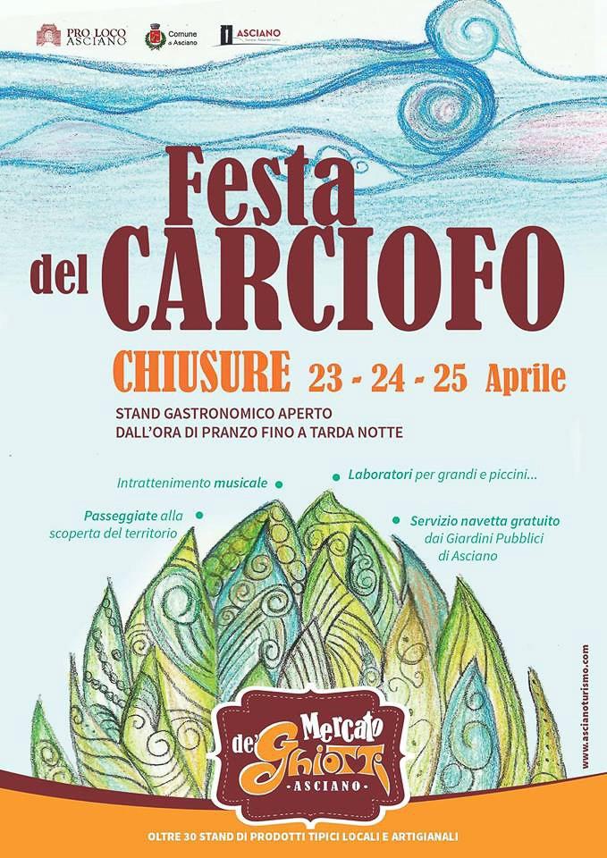 Italian food festival Sagra del Carciofi