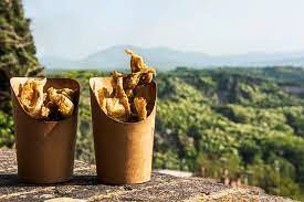 Italian Food festival Fried Artichokes