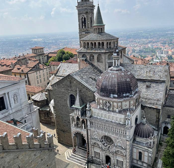 A day trip to Bergamo Città Alta